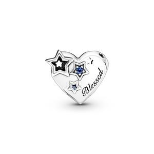 Bilde av Pandora Thankful Heart & Stars charm