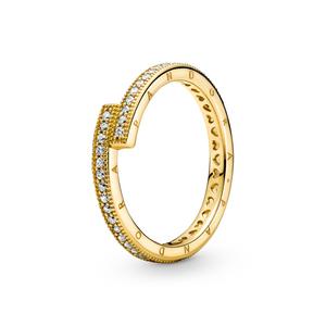 Bilde av Sparkling Overlapping Ring